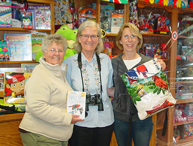 Birding Backpack Donation to Colby Library